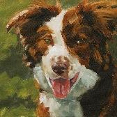 Custom Dog Portrait 8x8 or 8x10