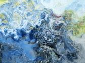 Abstract 30x40 giclee print on canvas Liquid Assets