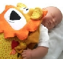 Lion Security Blanket for Baby or Toddler