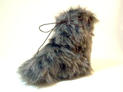 Fur Baby Booties Faux Fur Baby Boots