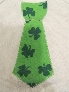 St Patricks Day Tie Applique Onesie