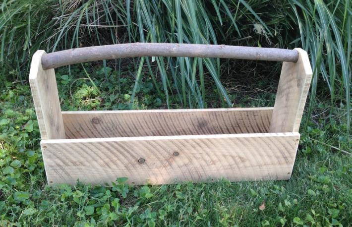 Garden Planter  Tool Box