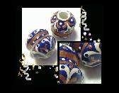 ROYAL FILIGREE Unique Handmade Tube Beads