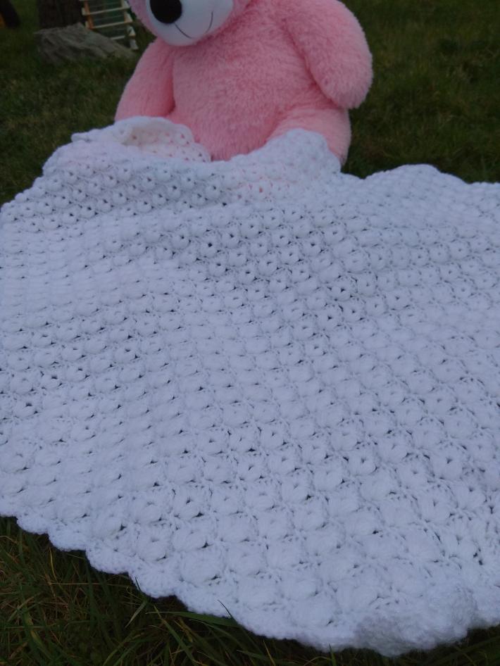 Baby Christening Blanket