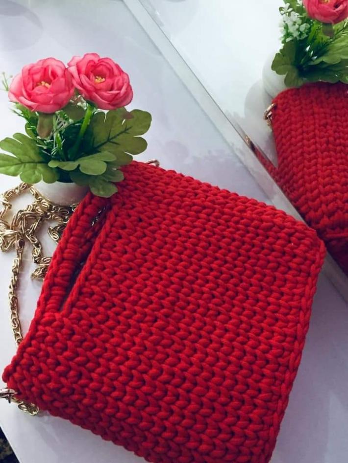 Handmade Rustic Bag