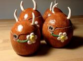 Highland Cow Ceramic Egghead Hielan Coo