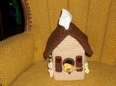 Birdhouse Tissue Box Cover Covers Crochet