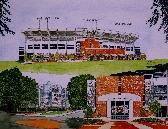 Jordan Hare Stadium Print