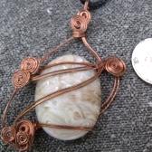 Copper Cabochon Pendant