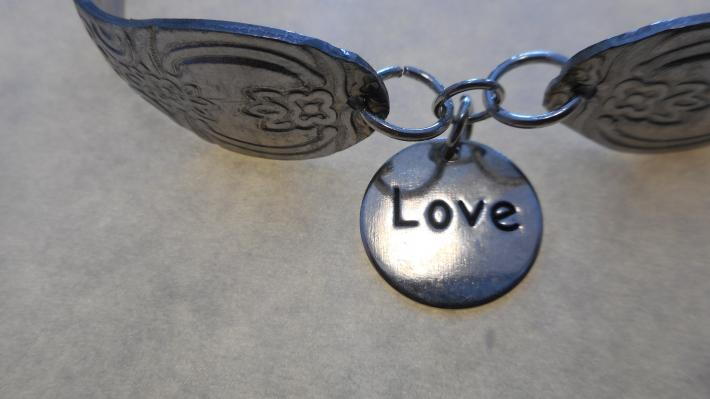Love  Bracelets made from stainless steel flatware