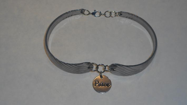 Peace spoon bracelet