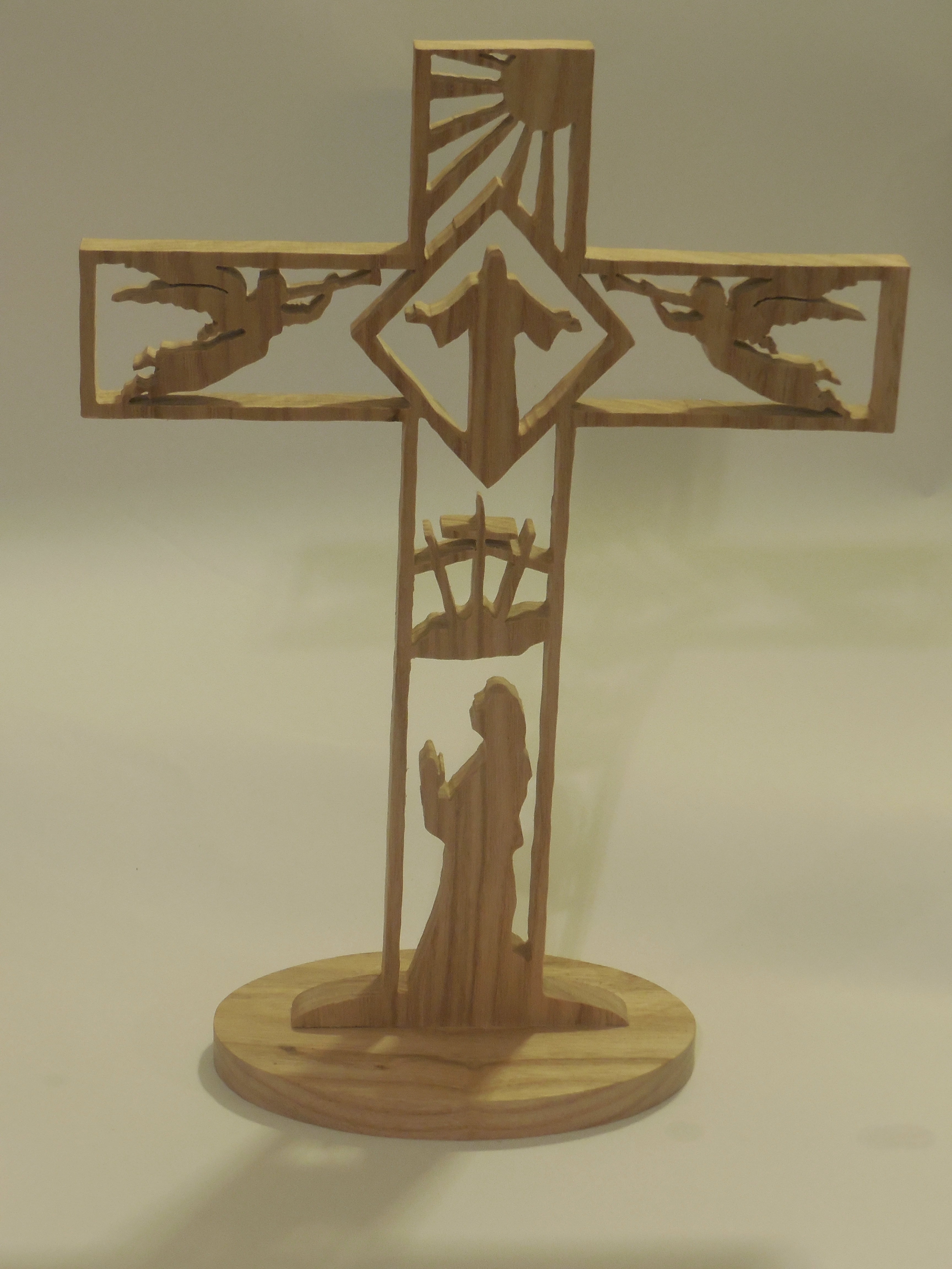 table cross home decor shelf cross on handmade artists 39 shop
