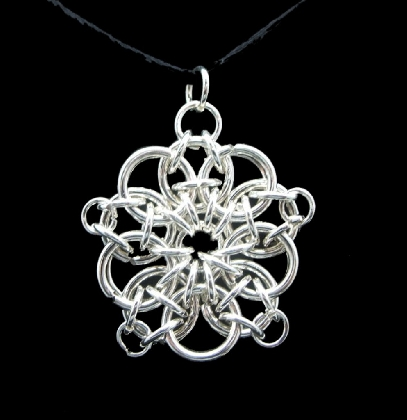Sterling Silver Celtic Star Pendant