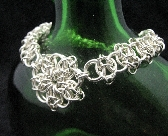 Sterling Silver Celtic Star Bracelet