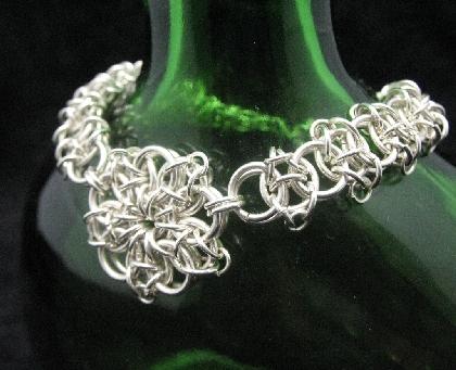 Sterling Silver Celtic Star Bracelet
