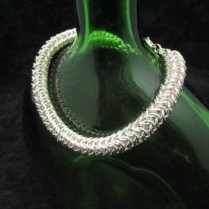 Sterling Silver Roundmaille Bracelet