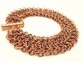 Copper Elfsheet Chainmaille Bracelet
