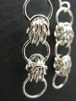 Sterling Silver Shazero Earrings