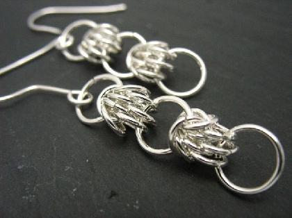 Sterling Silver Shazero Earrings