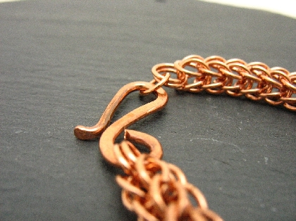 Copper Full Persian Chainmaille Necklace