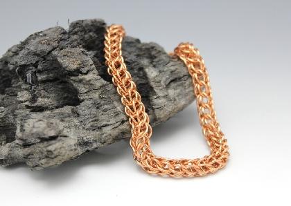 Solid Copper Persian Bracelet