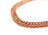 Copper Chainmaille Half Persian 4 in 1 Bracelet