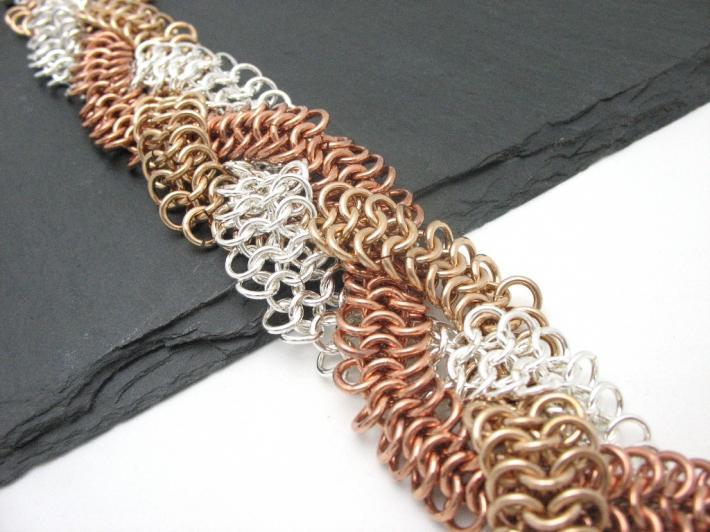Braided European 4 and 1 Bracelet