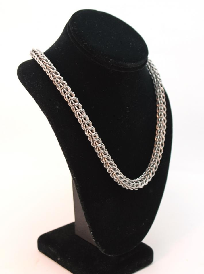 Stainless Steel Persian Unisex Necklace