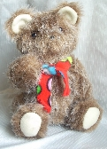 Old-Fashioned Toy Teddy Bear