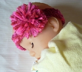 Very Pink Baby Headband