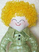 Meet WENDY  Handmade Rag Doll Ready To Be Loved