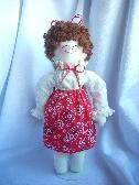 Meet BETH Handmade Rag Doll