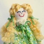 Tiny Handmade Rag Doll