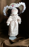 Handmade Rag Doll with Hat