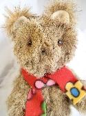 Fuzzy Handmade Brown Teddy Bear