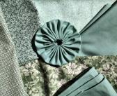 Custom Order for Sherry 36 Fabric Yoyos in Greens