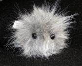 Gray FurPet© Unique Fuzzy Handmade Toy