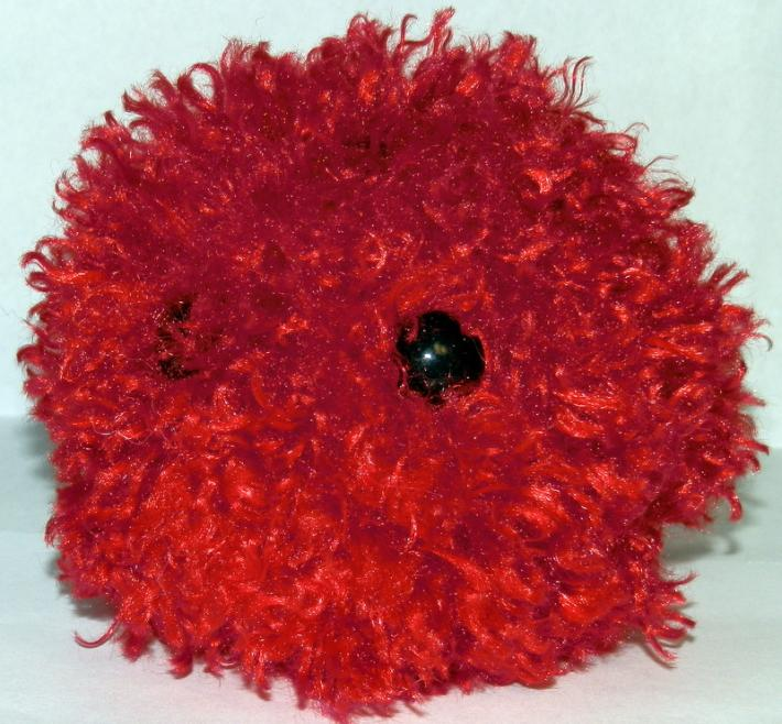 Curly Red FurPet© Handmade Toy and Loyal Friend