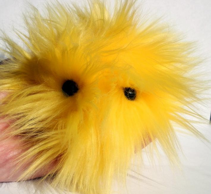 Bright Yellow FurPet© Great Listener