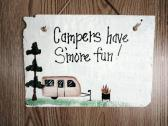 Campers have Smore fun sign