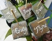 Garden Herb Veggie Markers