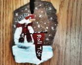 Alabama Christmas ornament personalize
