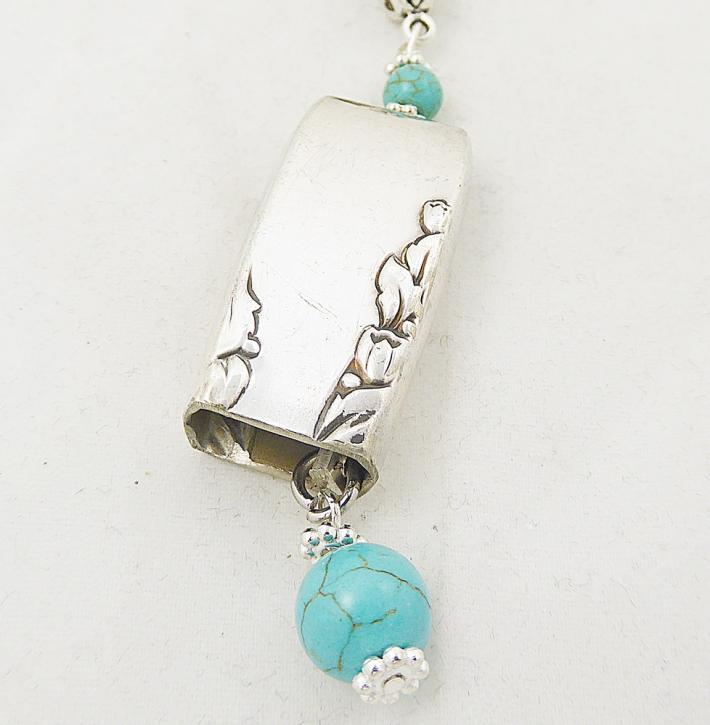 Spoon Necklace Bell Proposal pattern silverware jewelry