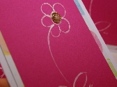 Handpainted Spring Flower Cards Set of Four