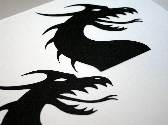 Dragon Head Scrapbook Diecuts