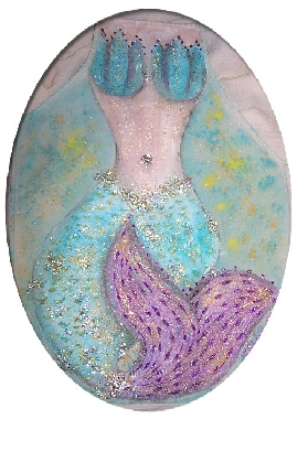 Andraste Mermaid Painted Apron Tutorial
