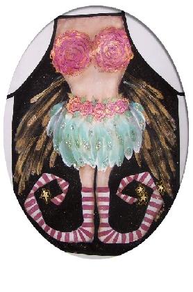Floella Pixie Painted Apron Tutorial