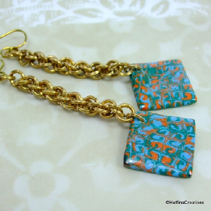 Jens Pind and Polymer Clay Earrings