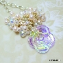 Pearl and Crystal Vegas Nights Necklace