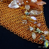 Autumnal Bliss Chainmaille Choker